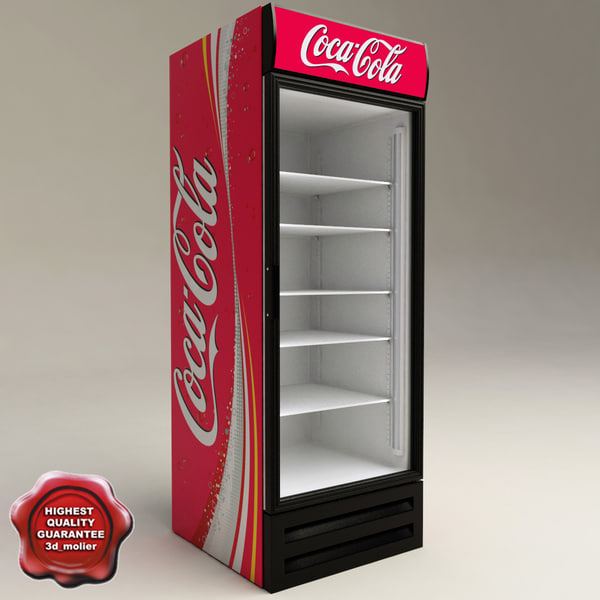 Refrigerator Coca Cola 3D Models