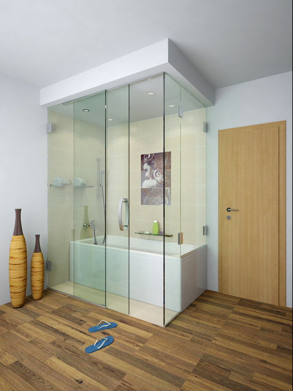 Enclosed Bathtub