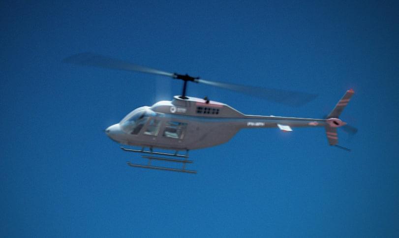 Bell JetRanger 206b