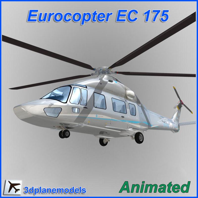 Eurocopter EC-175 Eurocopter demo livery