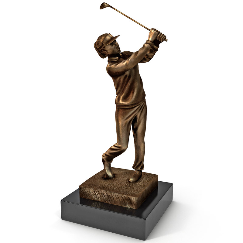 Female Golfer Trophy