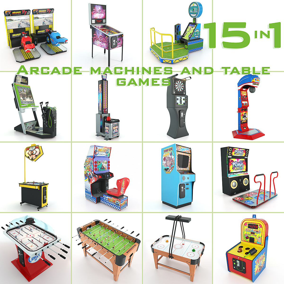 16in1 Arcade machines and table games.jpg