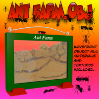 Ant Farm 3D models