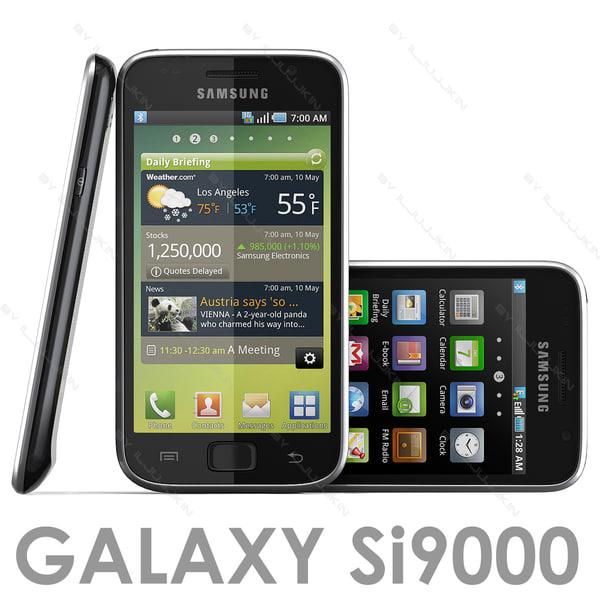 Samsung GALAXY S I9000 3D Models