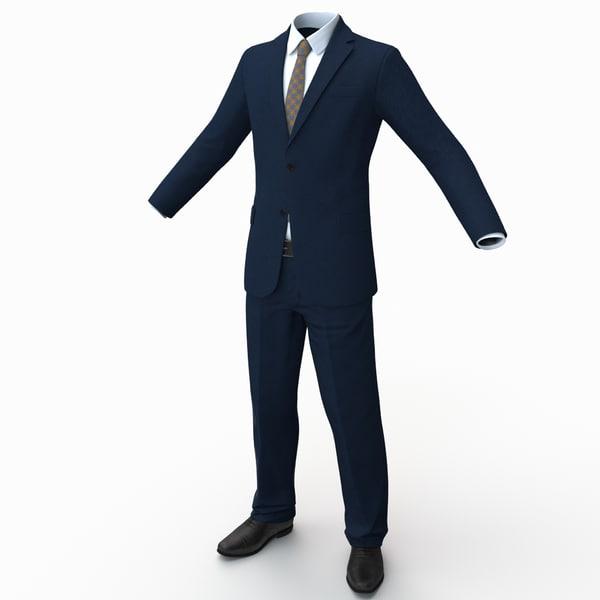 Suit 3D Models