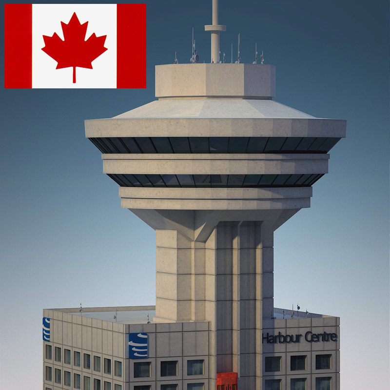 Vancouver lookout building 3d model for Building a lookout tower