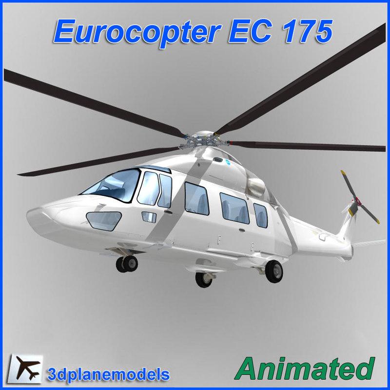 Eurocopter EC-175 Generic white