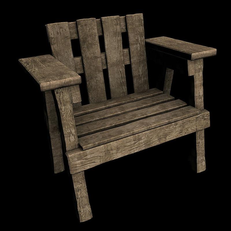 Wooden_chair_by_Vitaloverdose.jpg