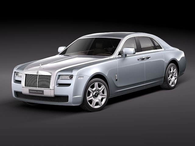 While the saloon is a rolls-royce in the more classic sense, the two-door