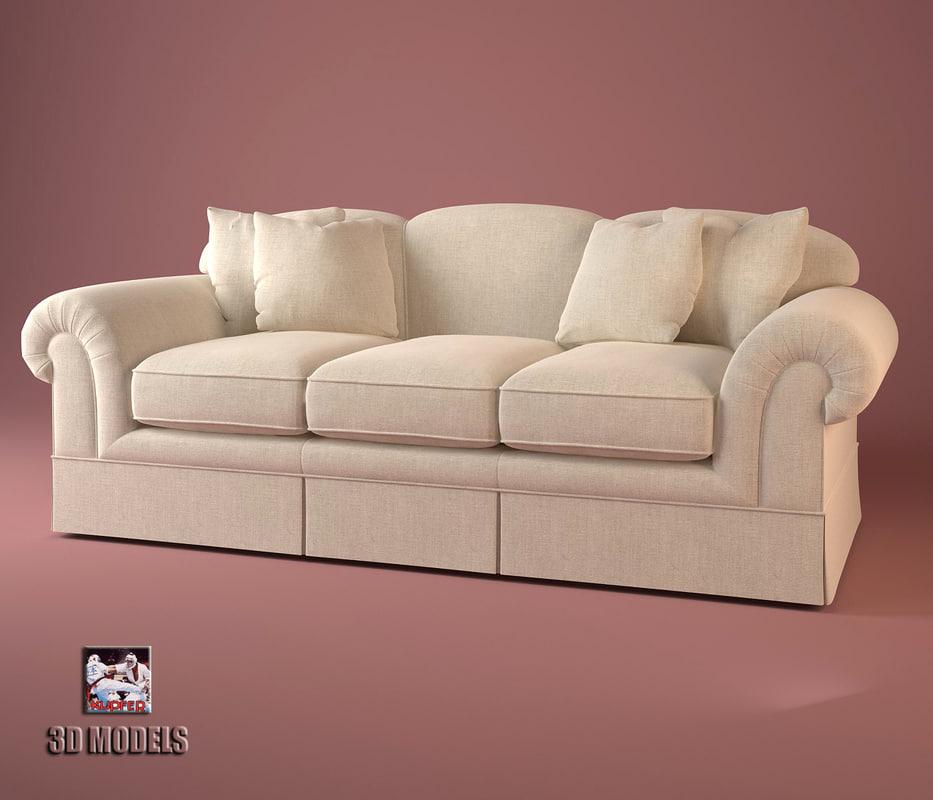 Baker sofa 6808 max for Baker furniture sectional sofa