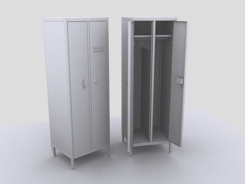 Metal closets for Keeping clothes  prev.jpg