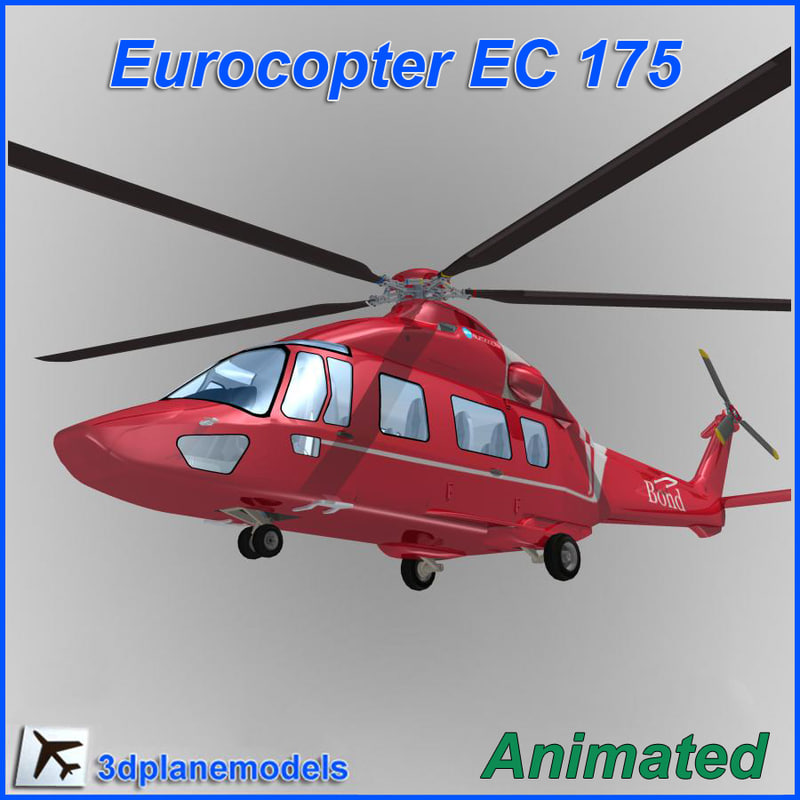 Eurocopter EC-175 Bond Helicopters