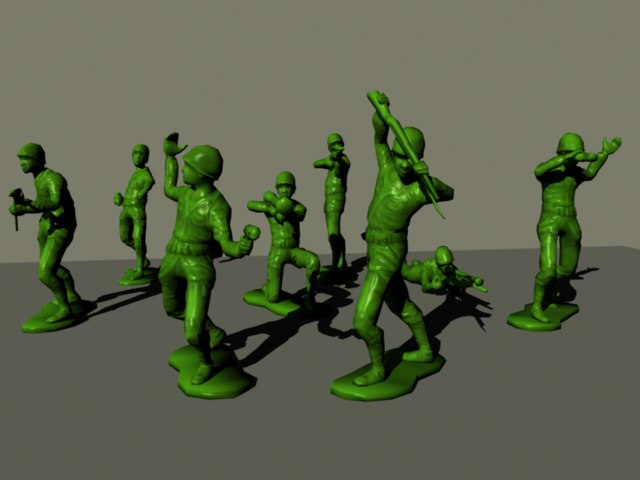 Plastic Army Men Together pngArmy Men Png