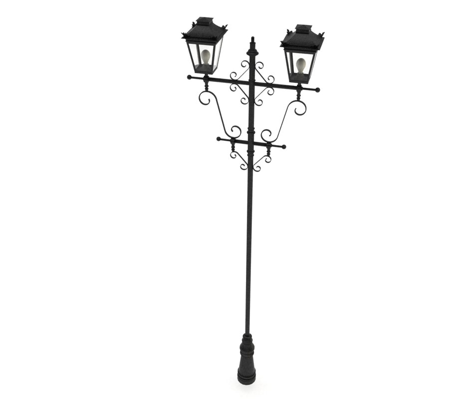 Searched 3d models for antique-street-lamp-4---vray-materials for Png Street Lamp  126eri