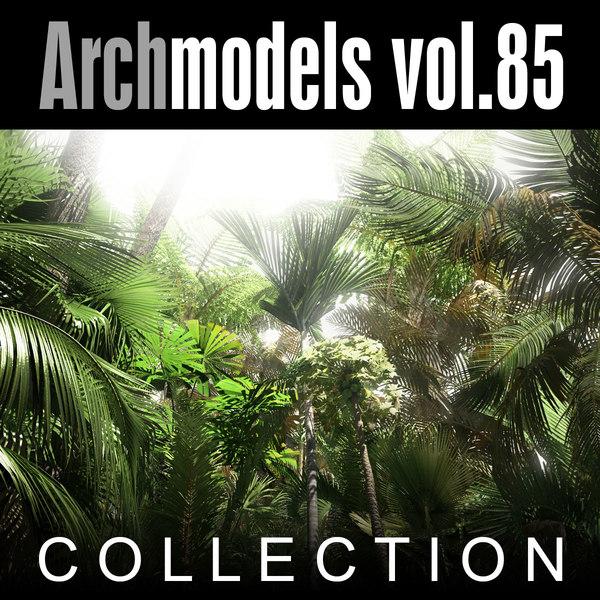 Archmodels vol. 85 3D Models