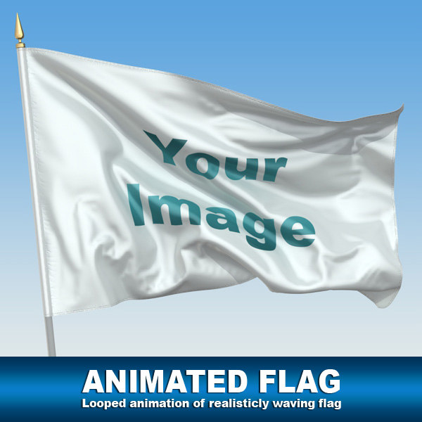 Animated Flag Texture Maps