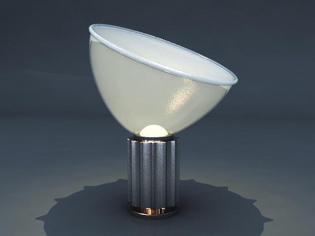 Castiglioni 3d models for Castiglioni light