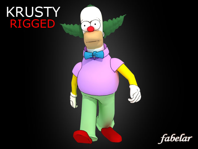 Krusty rigged