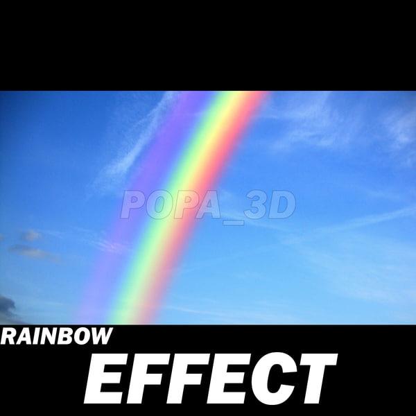 Rainbow effect 3D Models