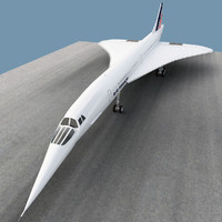 supersonic jet 3D models