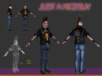 Punk 3D models
