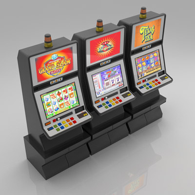 Slot Machines 3 3D Models