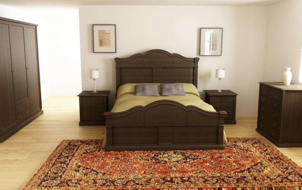 Bedroom interior 01C