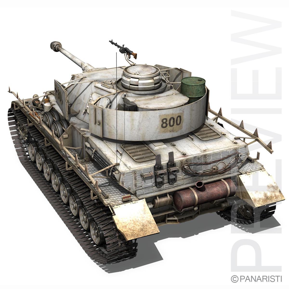 SD.KFZ 161 PzKpfw IV - Panzer 4 - Winterversion