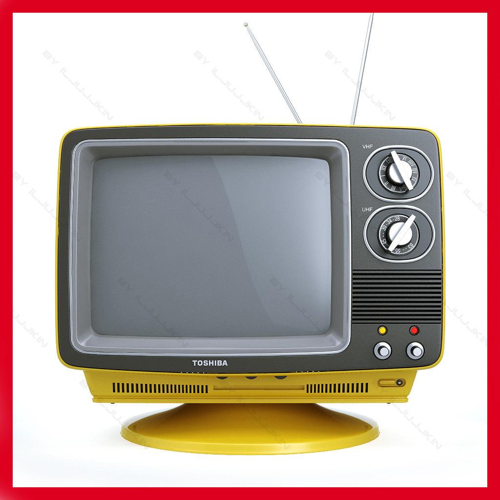 1970s Television Set