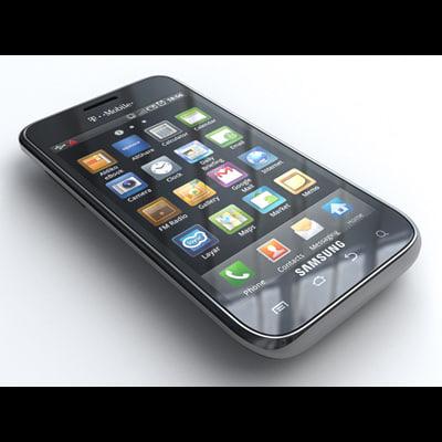 Samsung Vibrant 3D Models