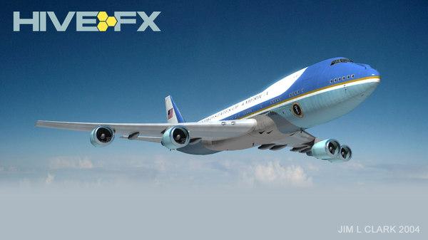 Airforce One AF1 3D Models