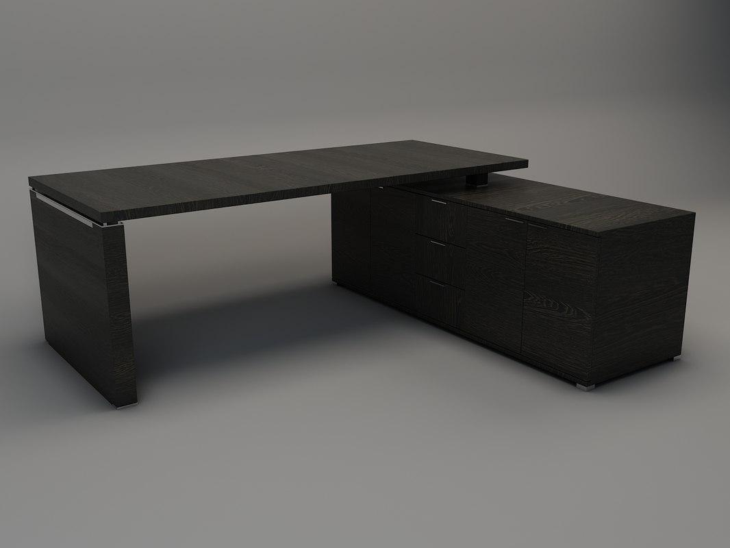 wenge desk max. Black Bedroom Furniture Sets. Home Design Ideas