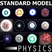 subatomic particles 3D models
