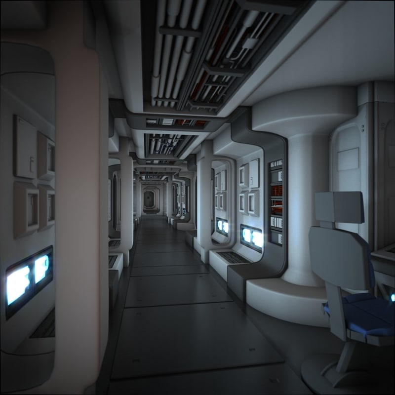 future spacecraft interior - photo #7