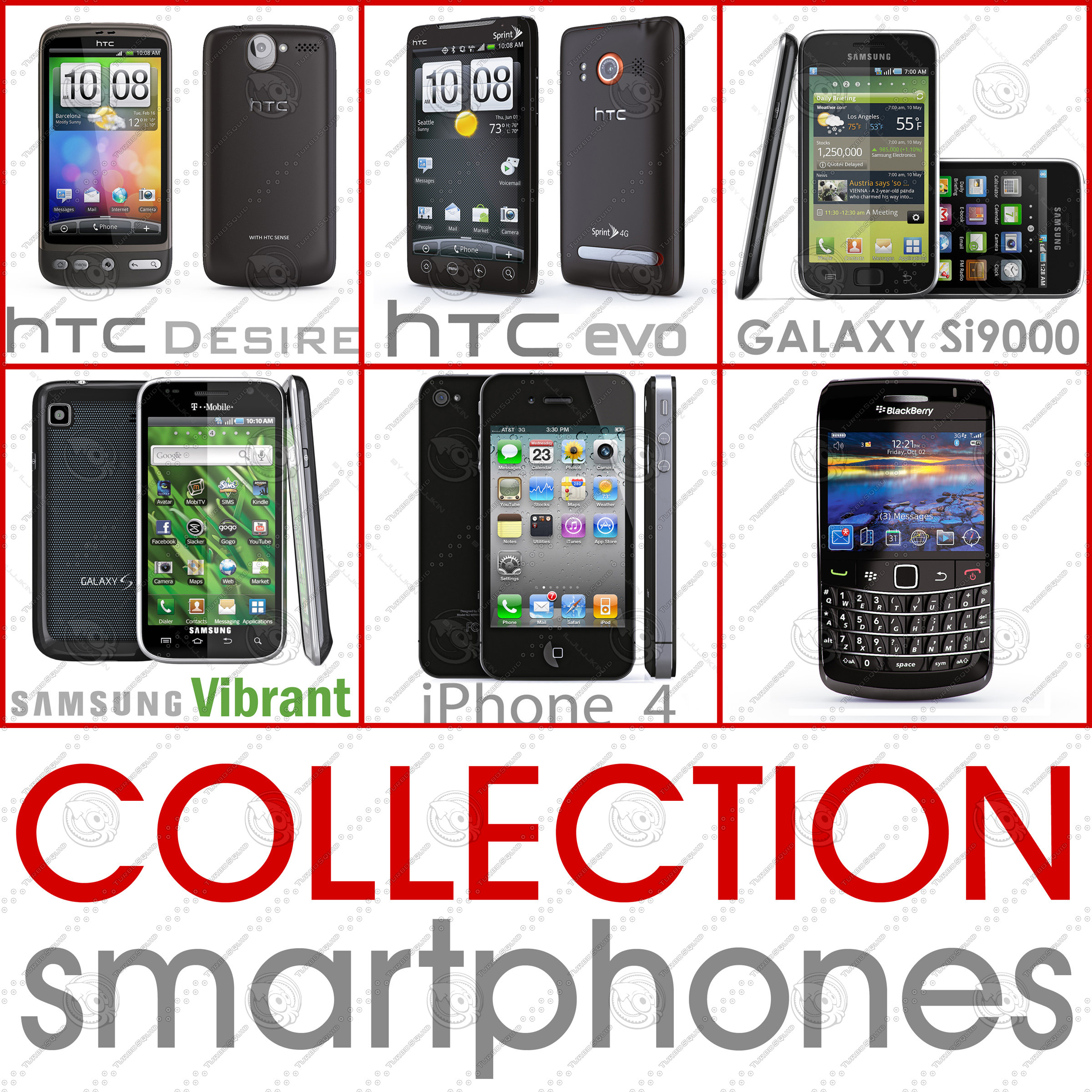 Collection Top smartphone