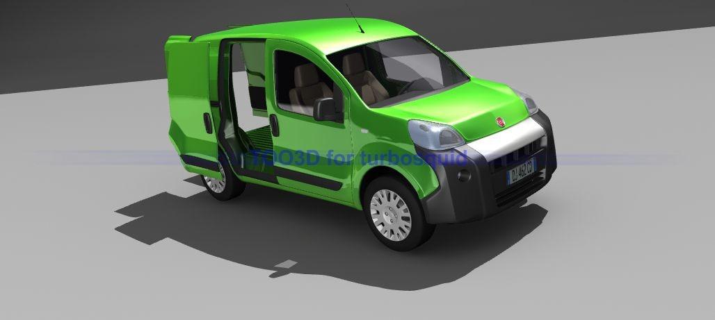 Fiat Fiorino (+interior)