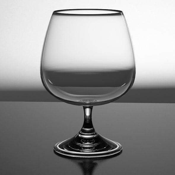 Cognac Glass 3D Models
