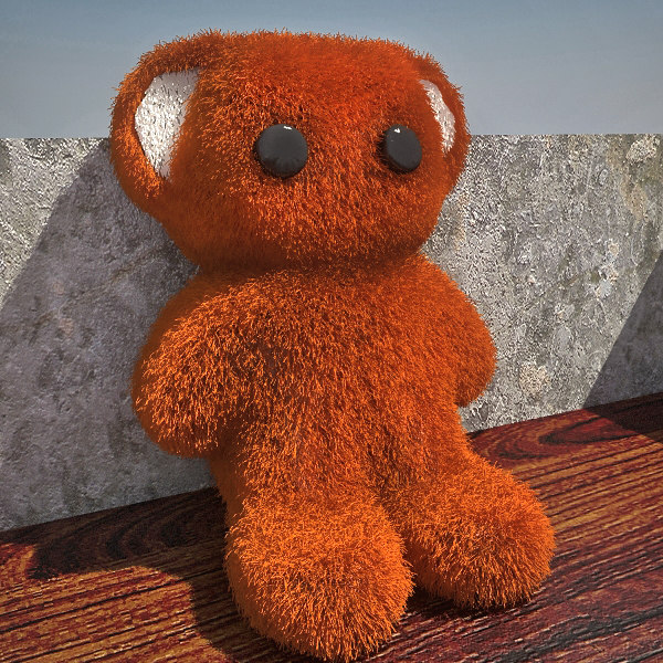 Teddy Bear TOS 3D Models