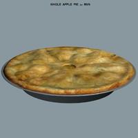 Apple Pie 3D models