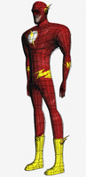 The Flash 3D models