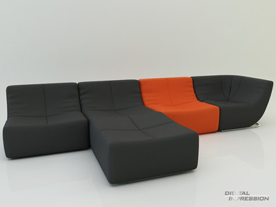 Sofa Room by Muller & Wulff 3D Models