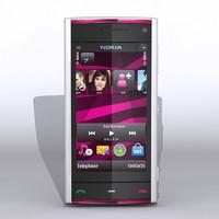Nokia X6 3D models
