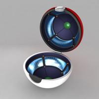 Pokeball 3D models