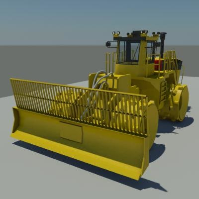 Trash Compactor 3D Models