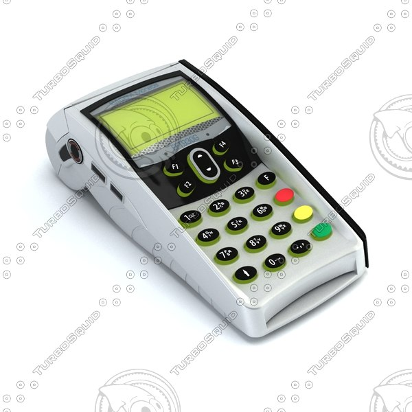 EDC EFT electronic payment 3D Models