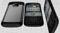 Nokia E5 00 3D models