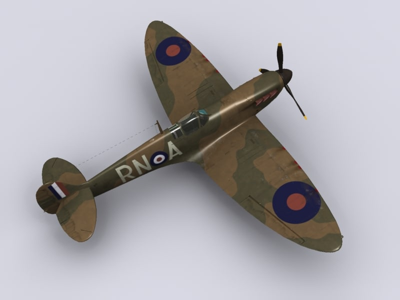 Spitfire Mk IA 72 squadron