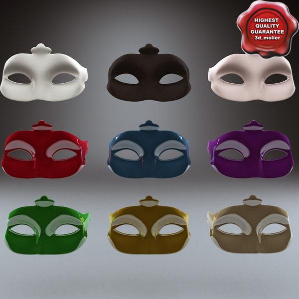 Masquerade Mask 3D Models