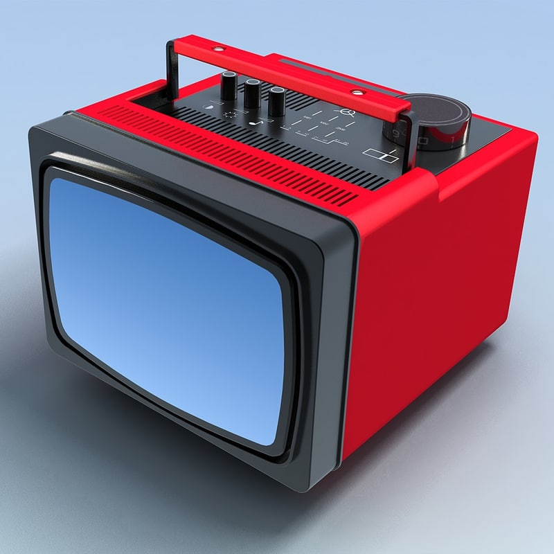 Old Portable TV.VRay.0000.jpg
