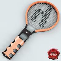 wii tennis racket 3D models
